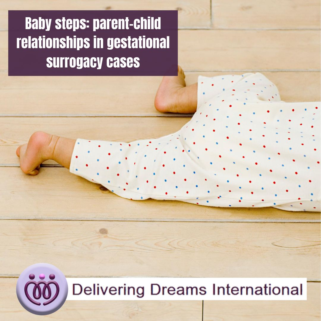 Baby steps: parent-child relationships in gestational surrogacy cases