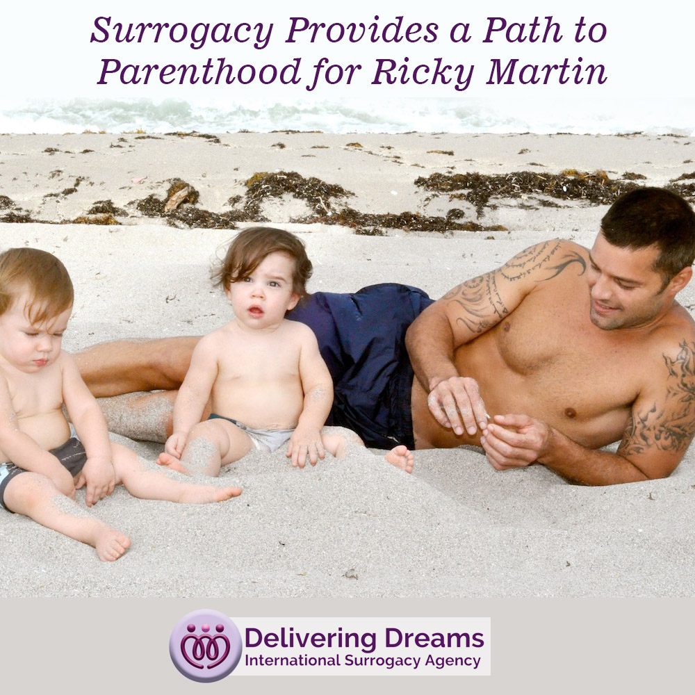 Surrogacy Provides a Path to Parenthood for Ricky Martin