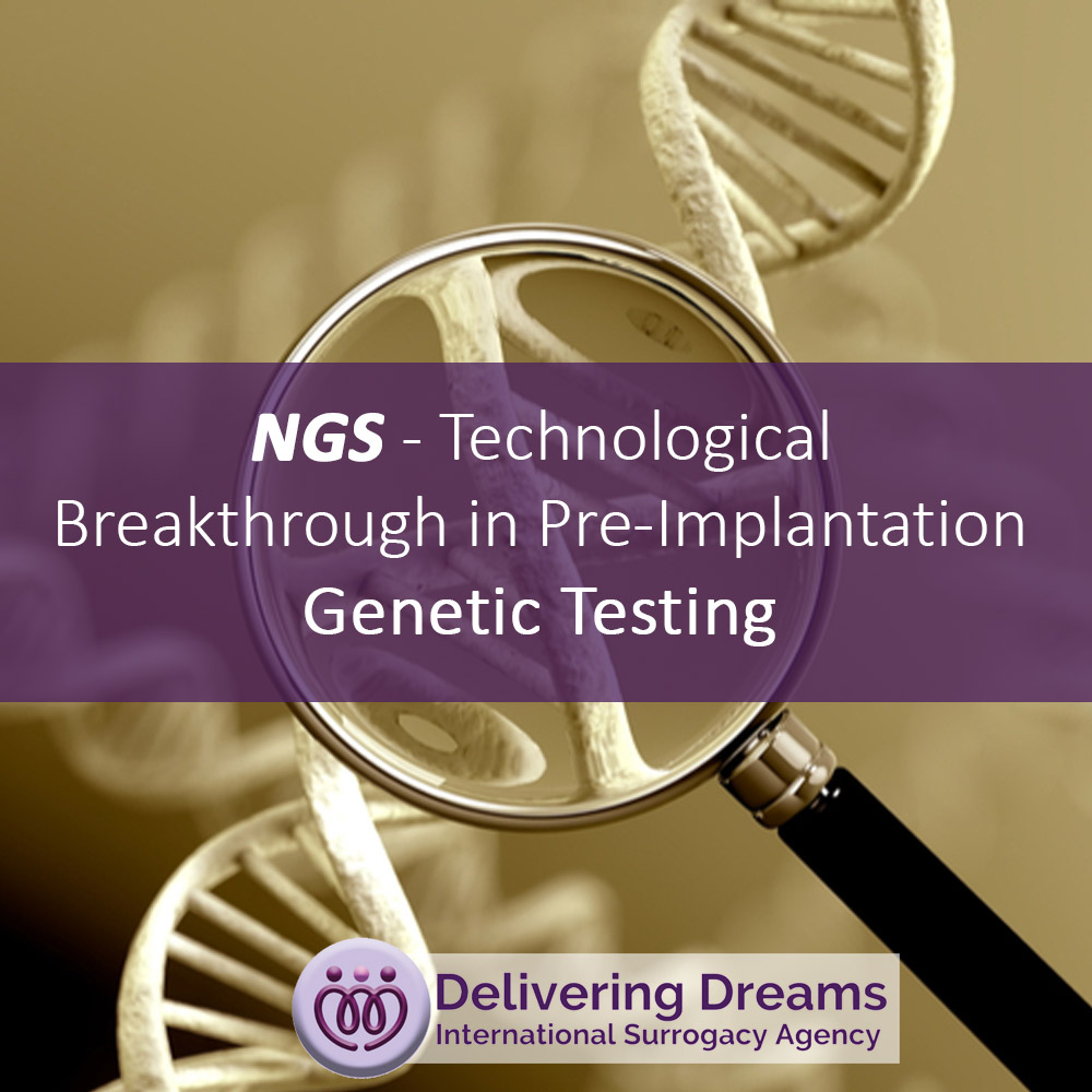 NGS – Technological Breakthrough in Pre-Implantation Genetic Testing