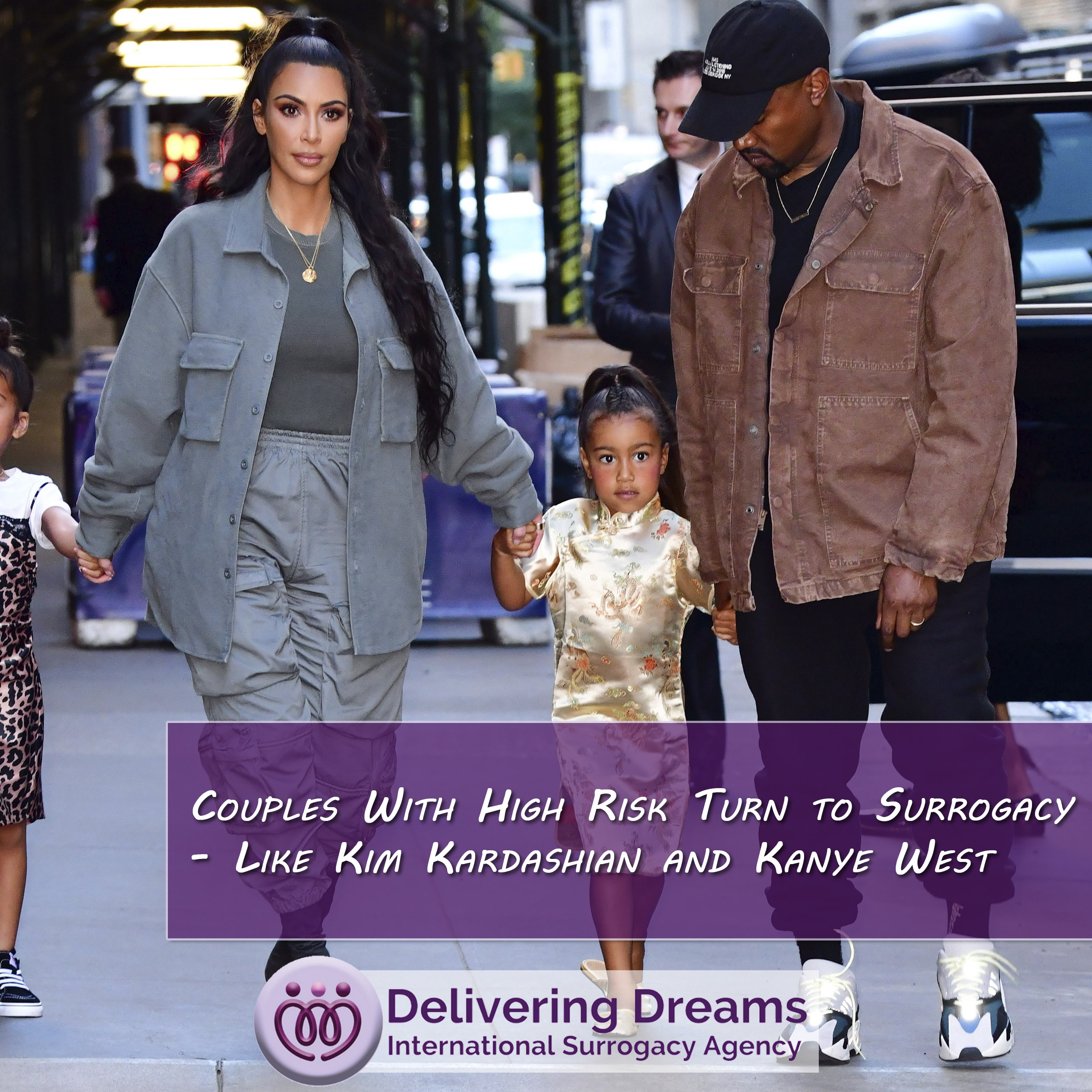 Couples With High Risk Turn to Surrogacy – Like Kim Kardashian and Kanye West