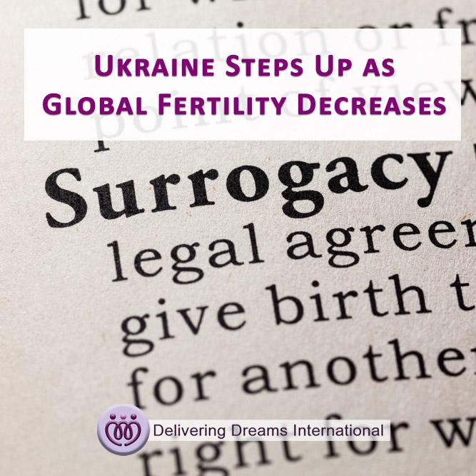 Ukraine Steps Up as Global Fertility Decreases