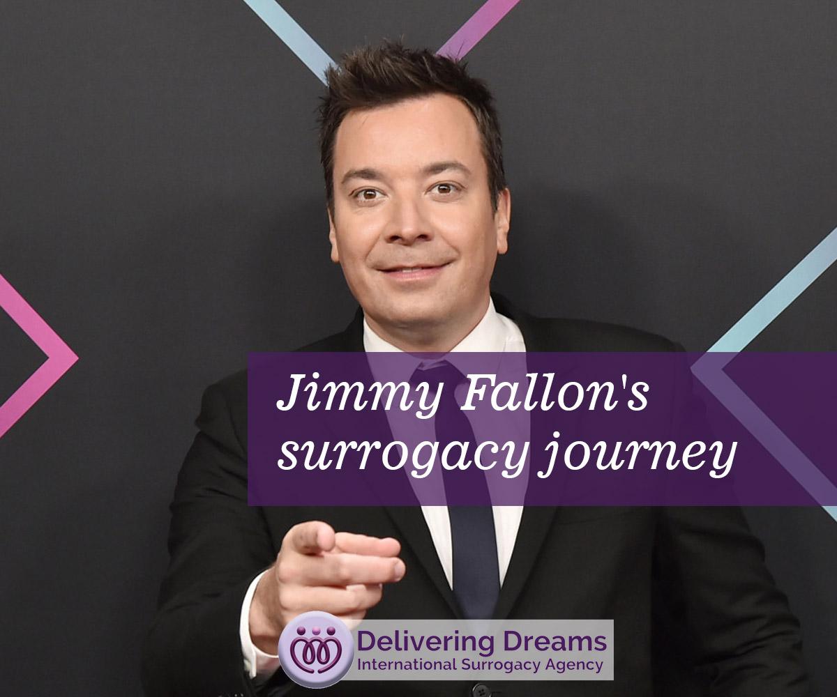 Jimmy Fallon's surrogacy journey