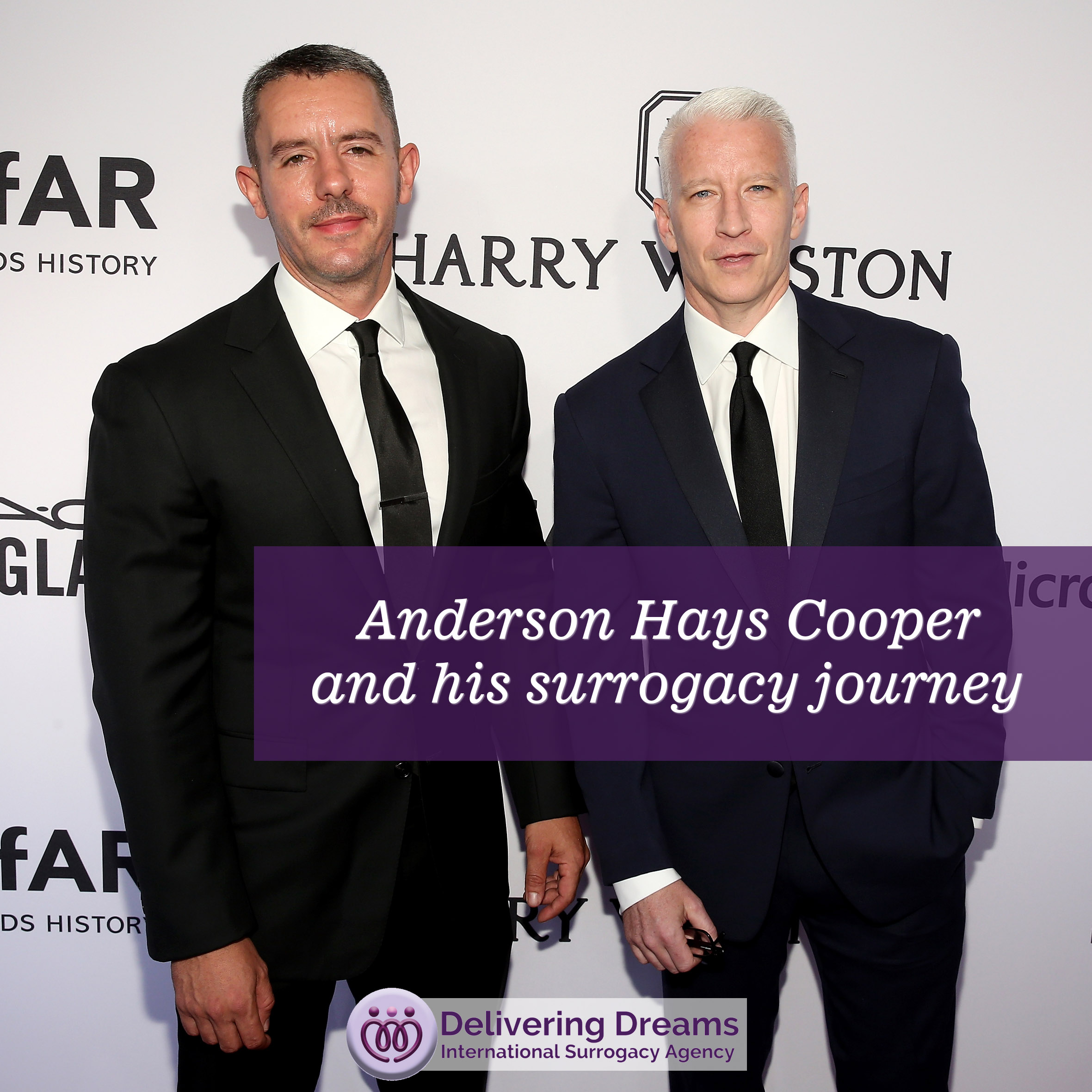 Anderson Hays Cooper and his surrogacy journey