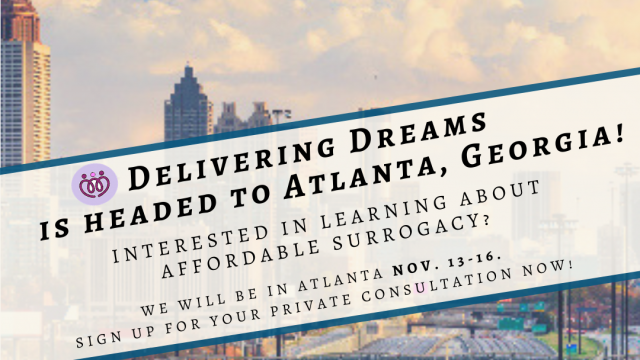 Delivering Dreams in downtown Atlanta, Nov. 13-16