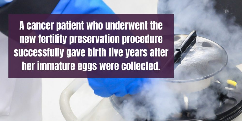 Baby Born from Egg that Was Matured and Frozen in the Lab