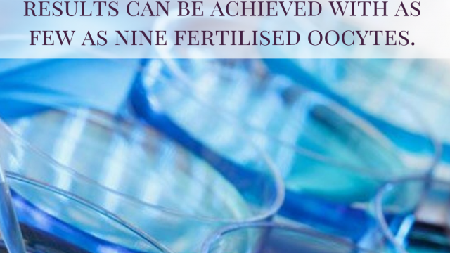 More is less, more is better: oocyte number and optimal IVF