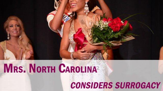 Mrs North Carolina considers surrogacy