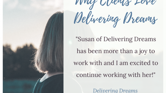 Why clients love Delivering Dreams